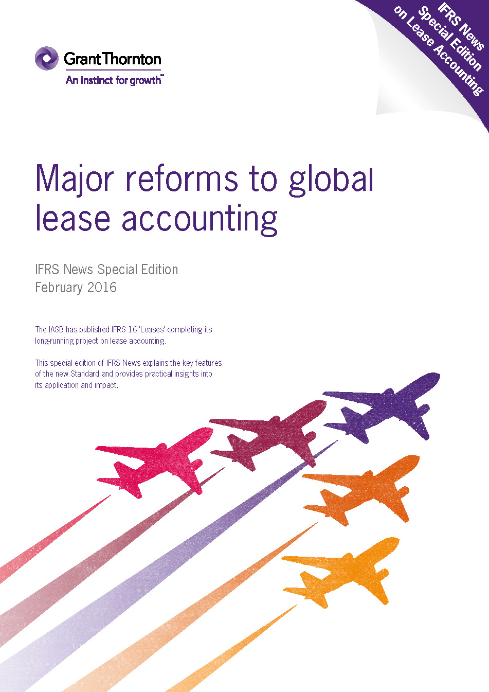 IFRS News special edition 16 Leases